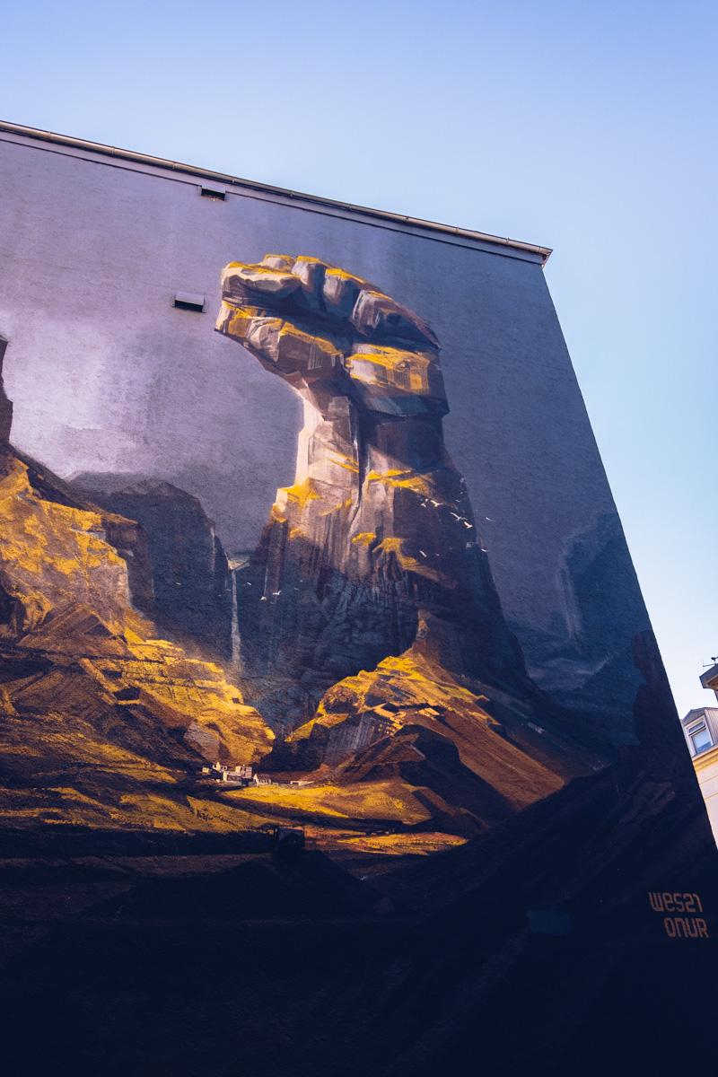 Refuse to hibernate reykjavik street art wes21 onur