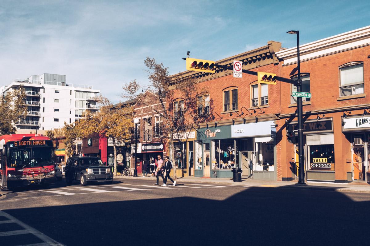 Refuse to hibernate Calgary Kensington rue