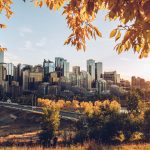 Refuse to hibernate Calgary coucher de soleil depuis rotary park