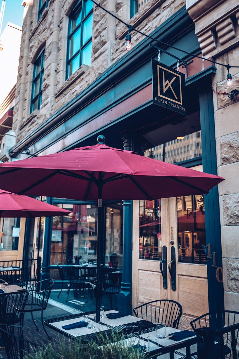 Refuse to hibernate Calgary kein harris restaurant