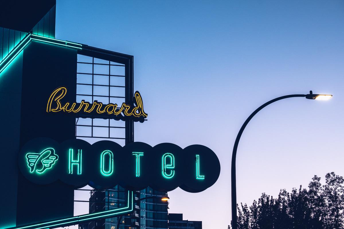 Refuse to hibernate Vancouver burrard hotel