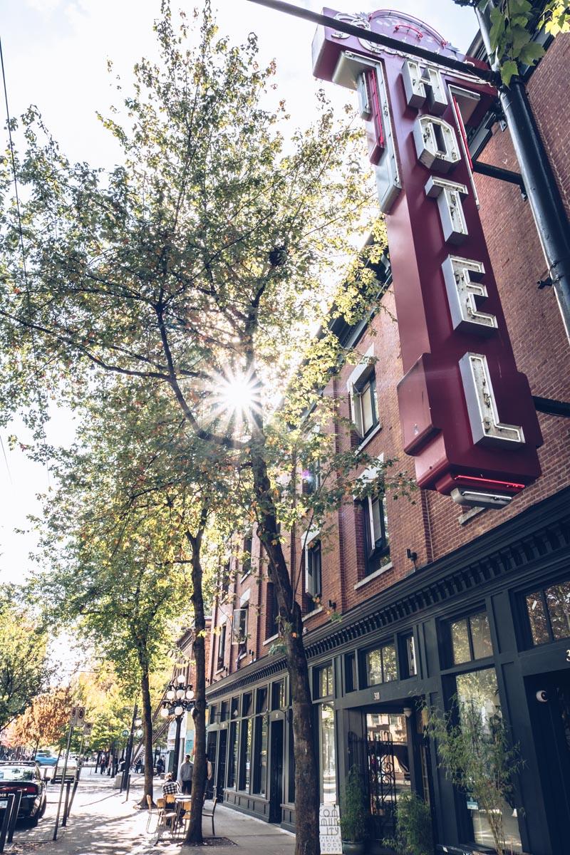 Refuse to hibernate Vancouver gastown hote