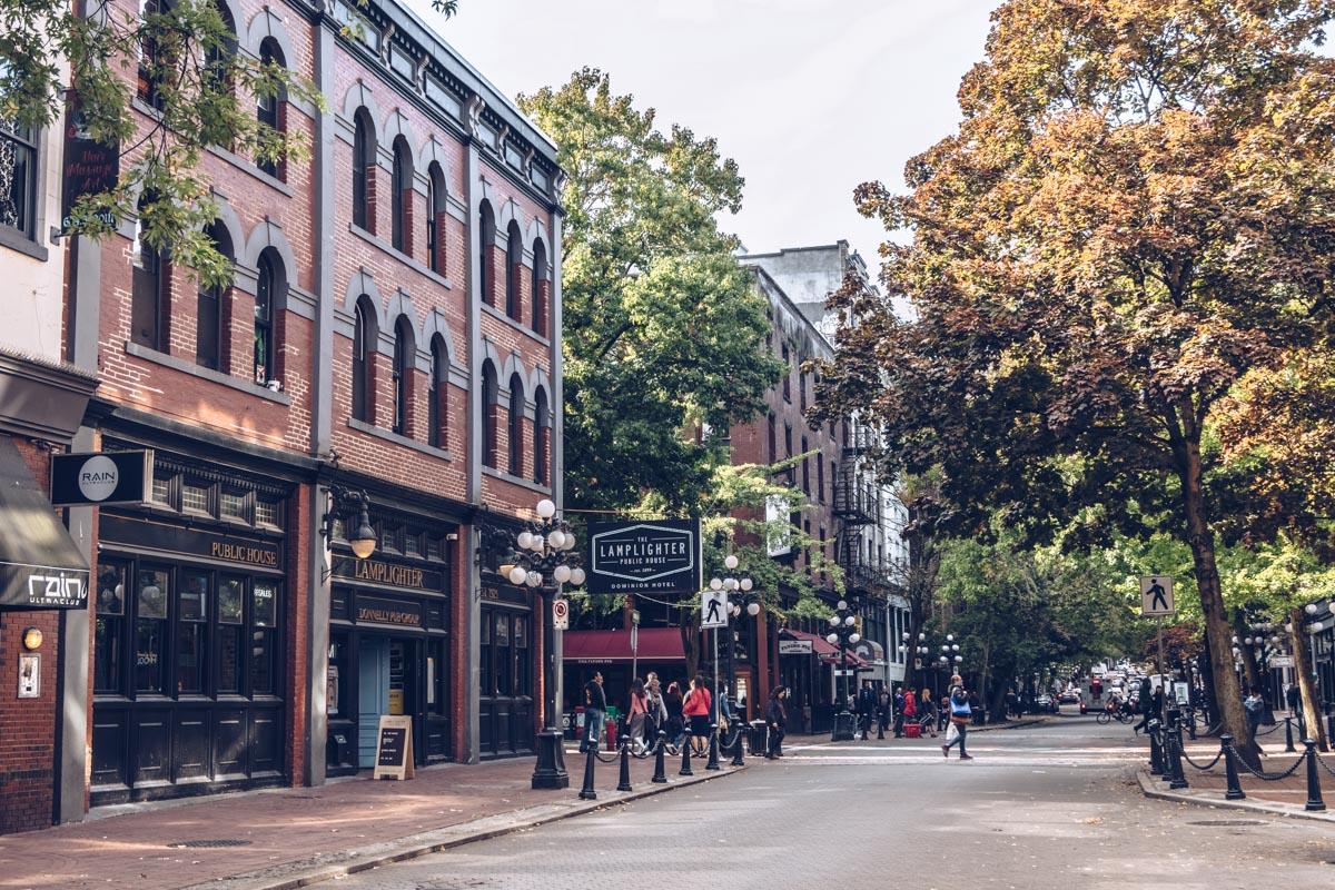 Refuse to hibernate Vancouver gastown rue