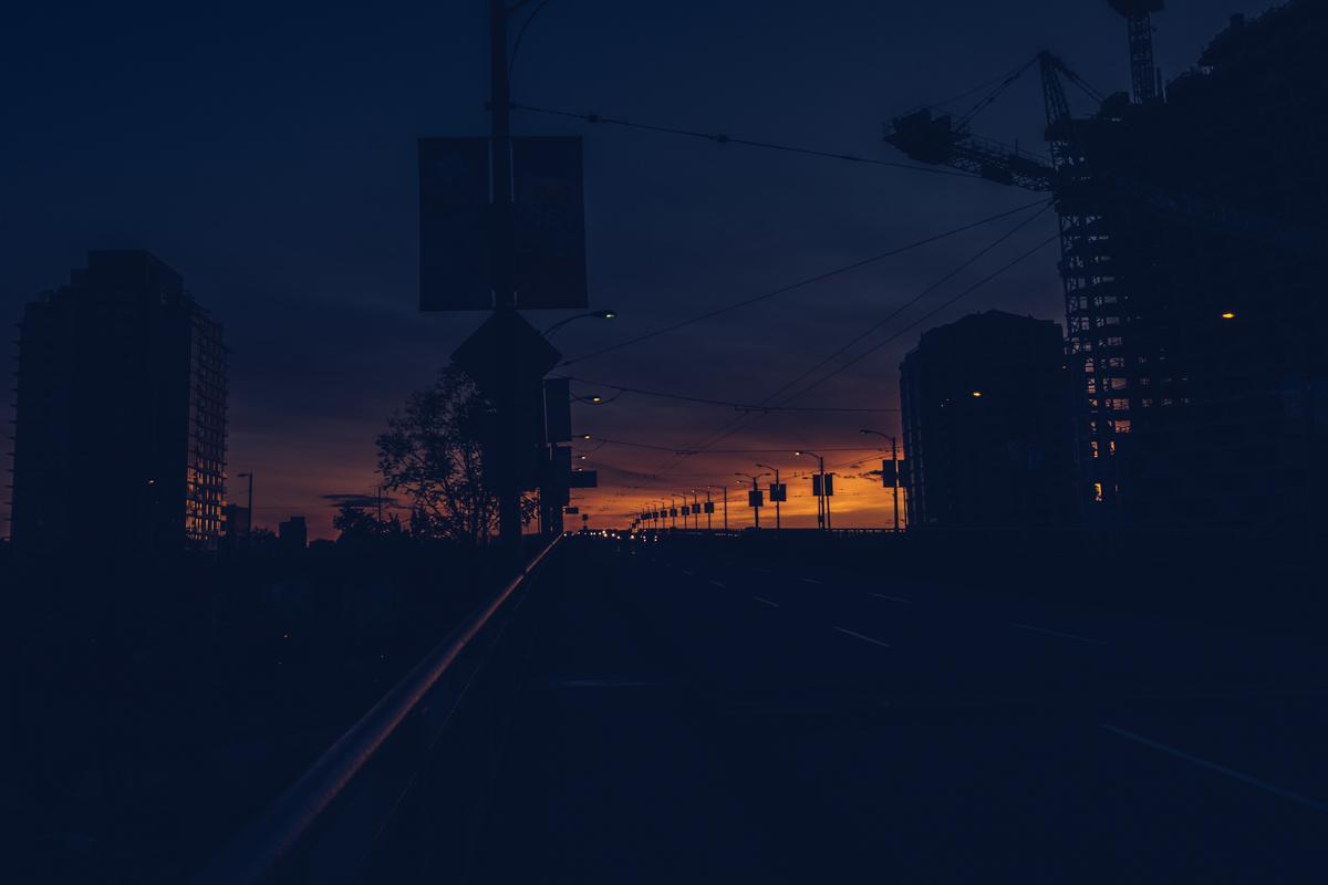 Refuse to hibernate Vancouver granville bridge de nuit