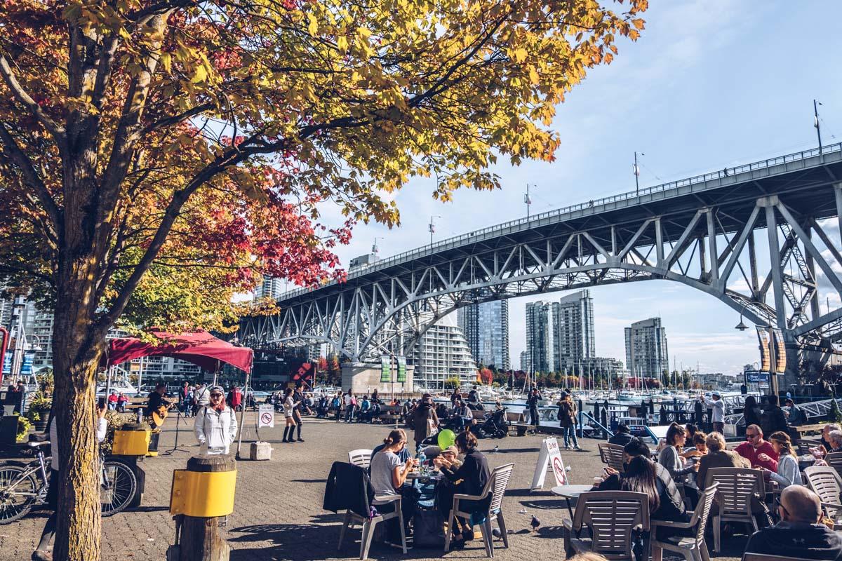 Refuse to hibernate Vancouver granville market