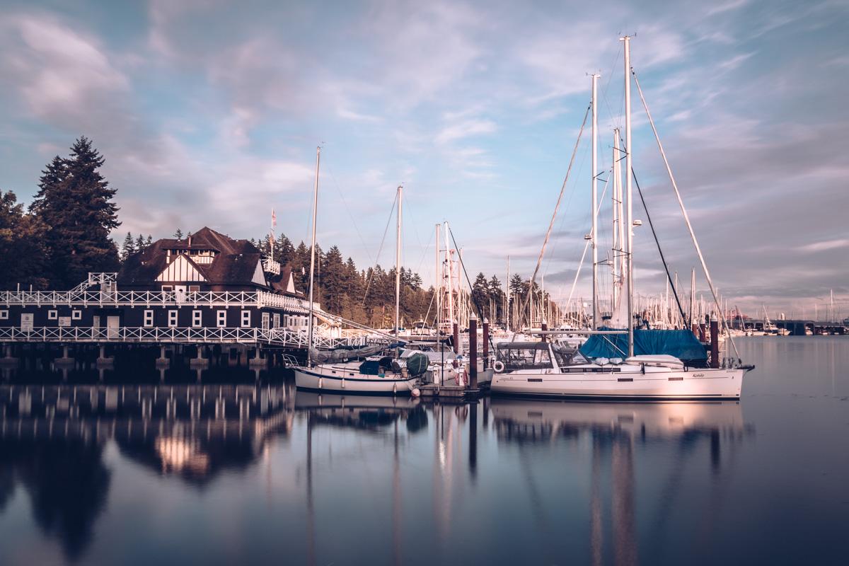 Refuse to hibernate Vancouver marina bateaux