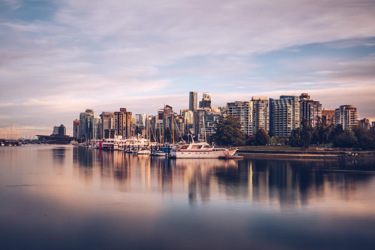 Refuse to hibernate Vancouver marina seawall