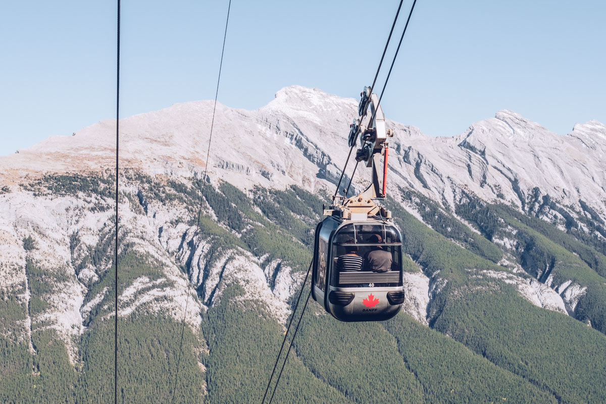 Refuse to hibernate Ouest canadien banff gondola descente