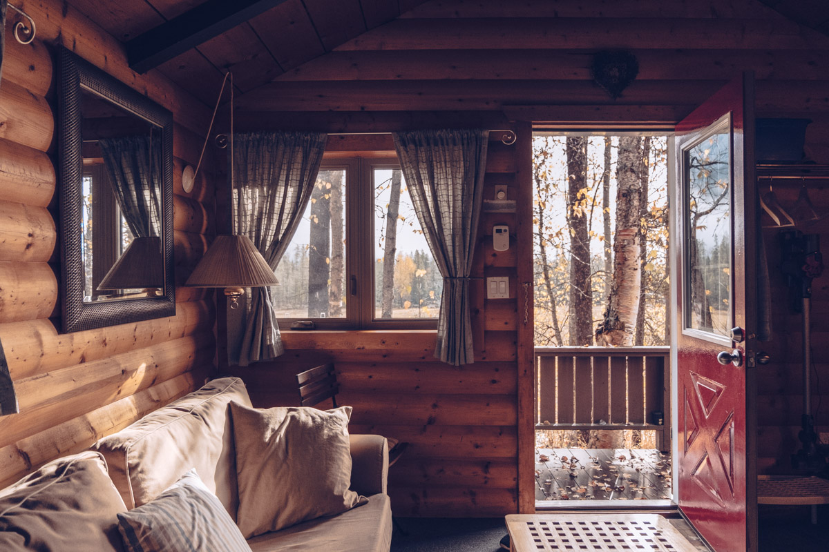 Refuse to hibernate Ouest canadien golden rocky mountain cabins and home interieur