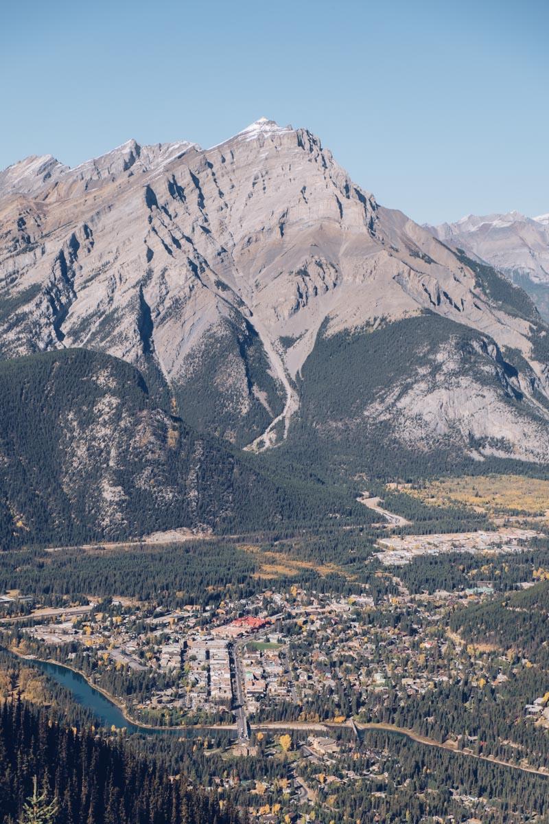 Refuse to hibernate Ouest canadien mont Sulphur vallée Bow