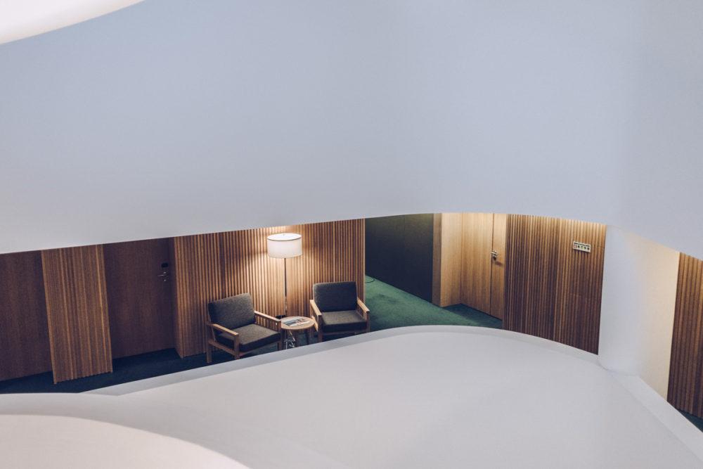 Refuse to hibernate Évora Olive hotel couloir