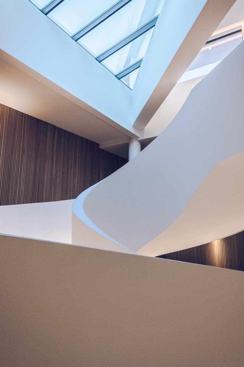 Refuse to hibernate Évora Olive hotel escalier