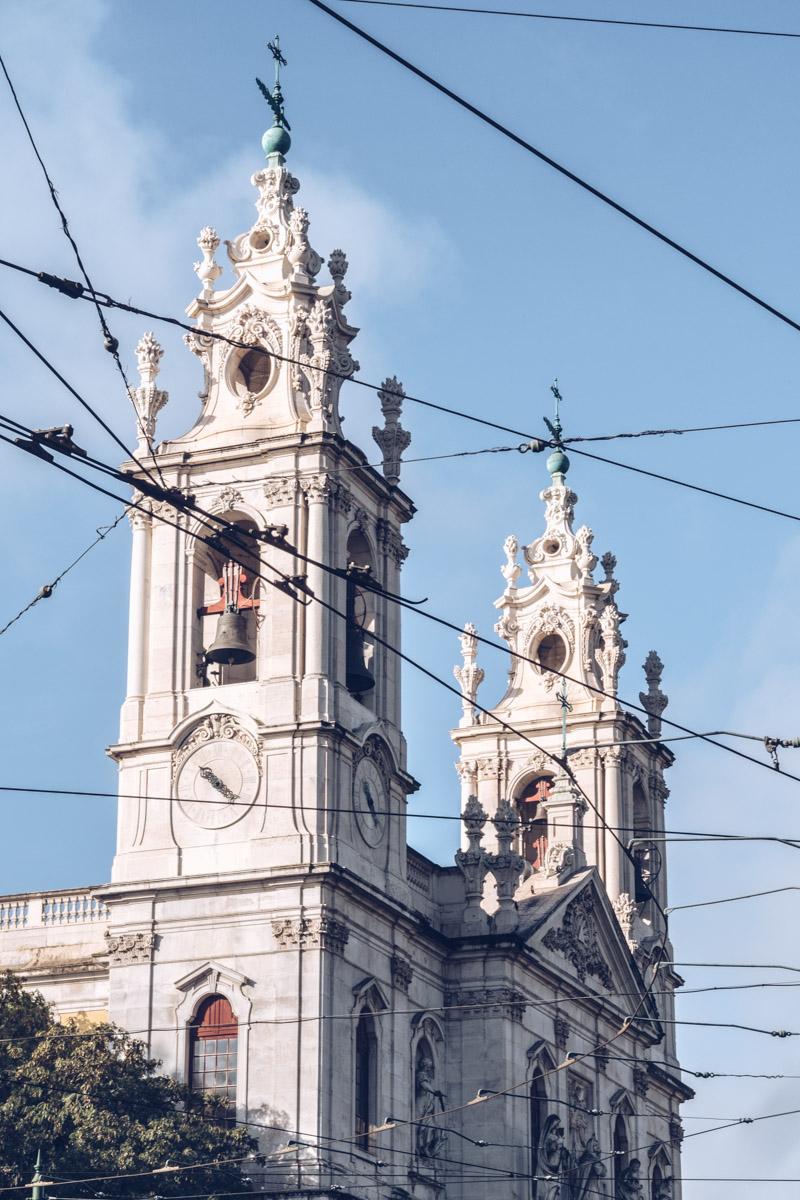 Refuse to hibernate Lisbonne basilica da estrela