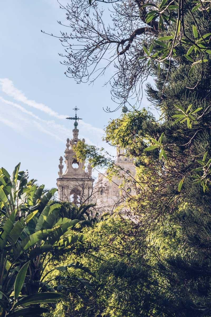 Refuse to hibernate Lisbonne jardim da estrela basilica da estrela