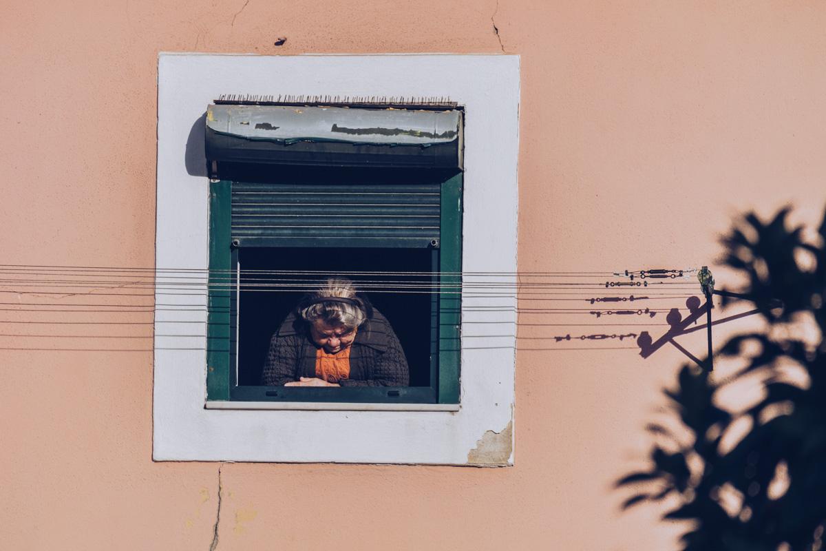 Refuse to hibernate Lisbonne lisboete a la fenetre