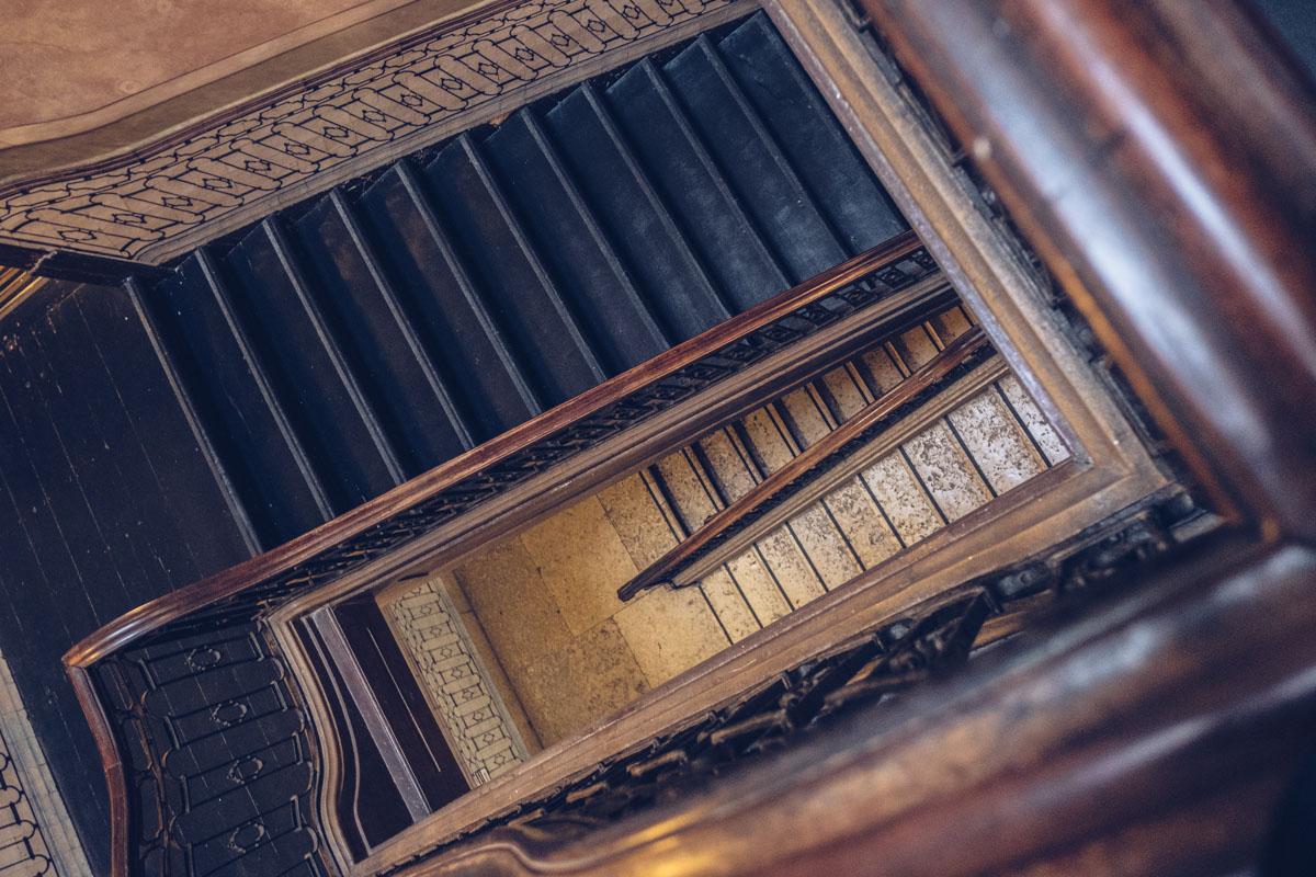 Refuse to hibernate Lisbonne palacio das especiarias escalier