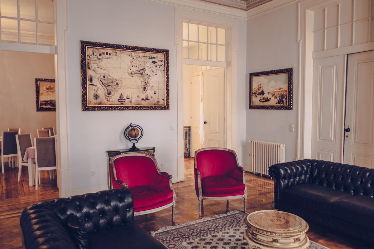 Refuse to hibernate Lisbonne palacio das especiarias salon