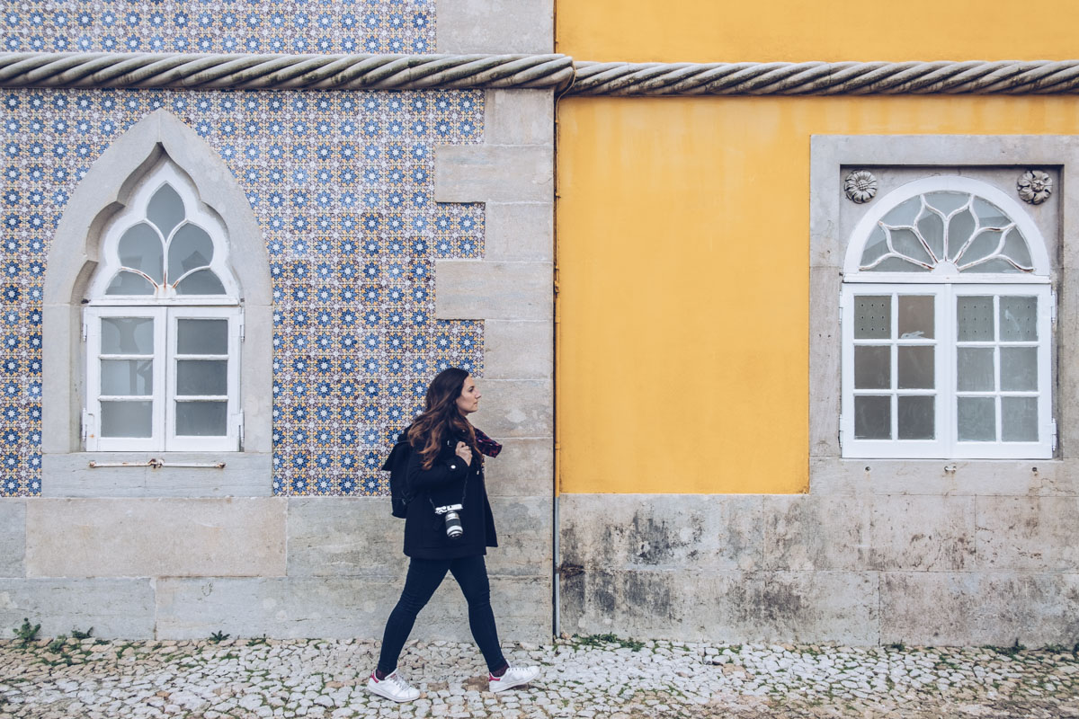 Refuse to hibernate Lisbonne sintra palacio da pena audrey