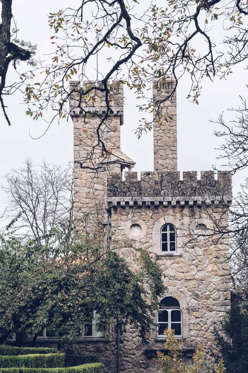 Refuse to hibernate Lisbonne sintra palacio da regaleira