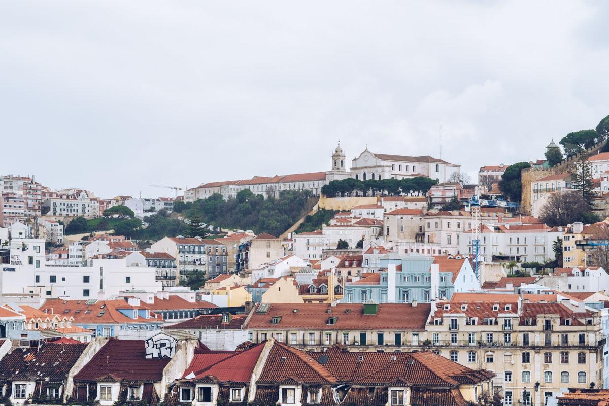Refuse to hibernate Lisbonne topo chiado vue sur la ville