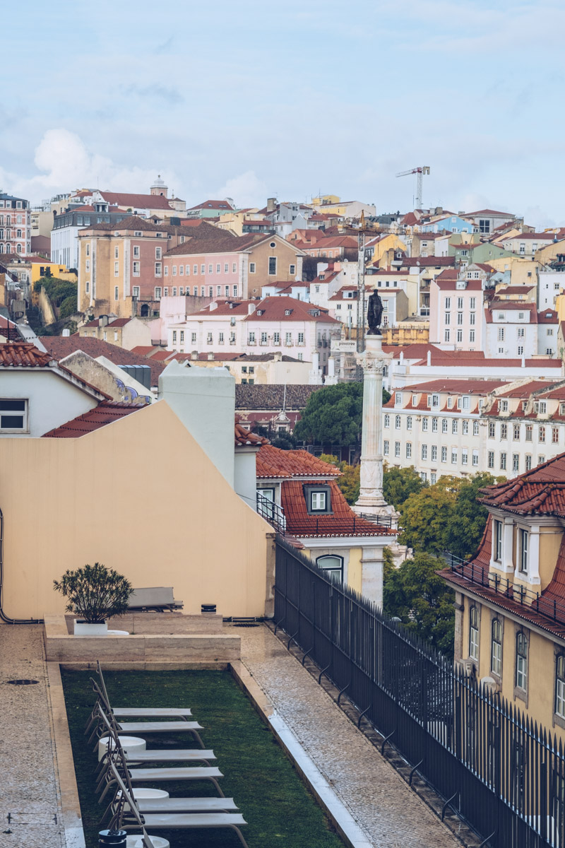 Refuse to hibernate Lisbonne topo chiado vue terrasse
