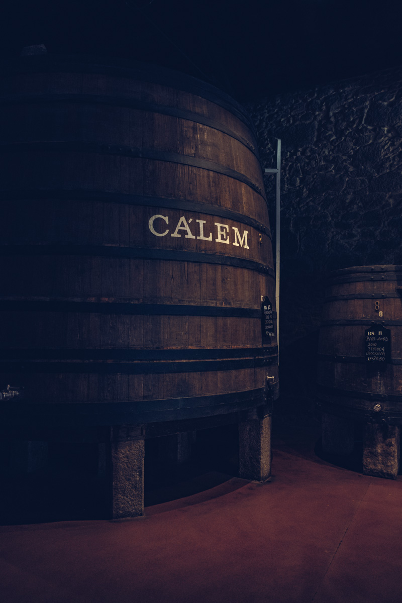 Refuse to hibernate Porto caves Calem musée gros tonneau