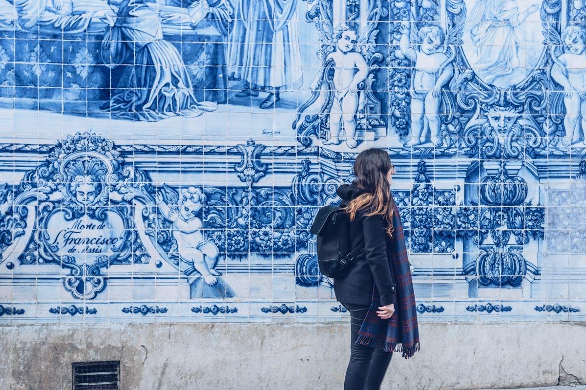 Refuse to hibernate Porto chapelle das Almas azulejos Audrey