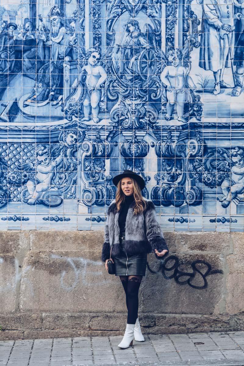 Refuse to hibernate Porto chapelle das Almas touriste