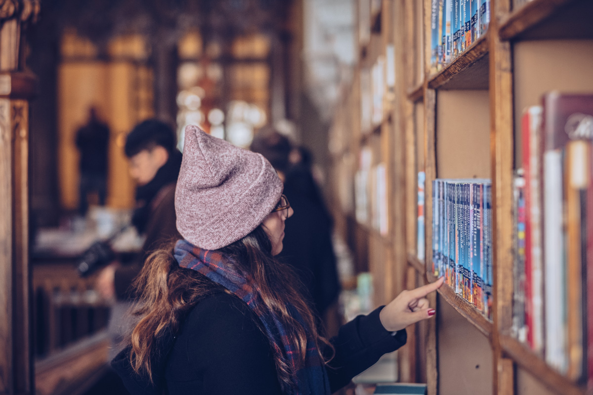 Refuse to hibernate Porto librairie Lello Audrey