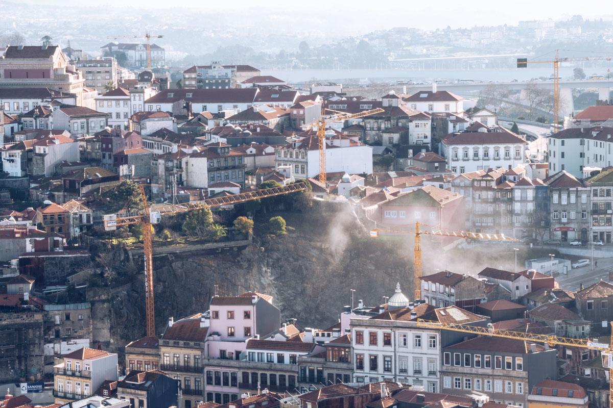 Refuse to hibernate Porto ville en chantier