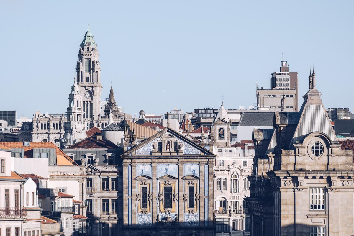 Refuse to hibernate Porto vue depuis la cathedrale