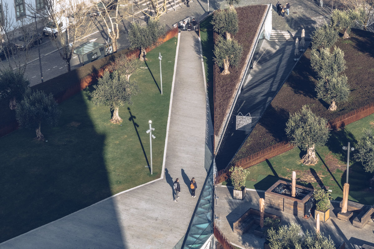 Refuse to hibernate Porto vue jardins tour dos Clerigos