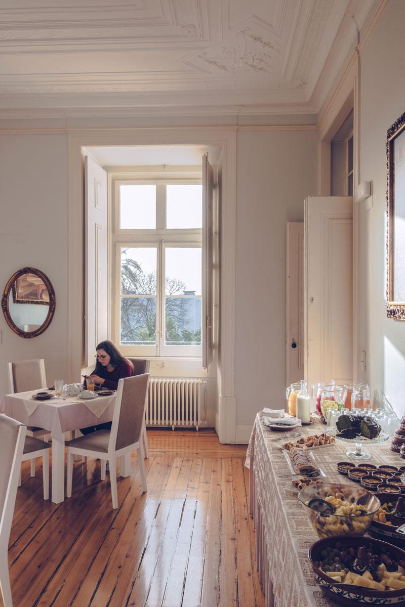Refuse to hibernate Portugal Lisbonne Palacio das Especiarias petit déjeuner