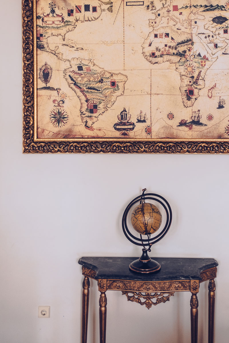 Refuse to hibernate Portugal Lisbonne Palacio das especiarias salon