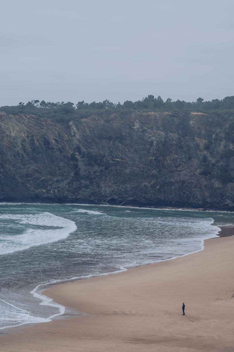 Refuse to hibernate Portugal plage Odeceixe seul au monde