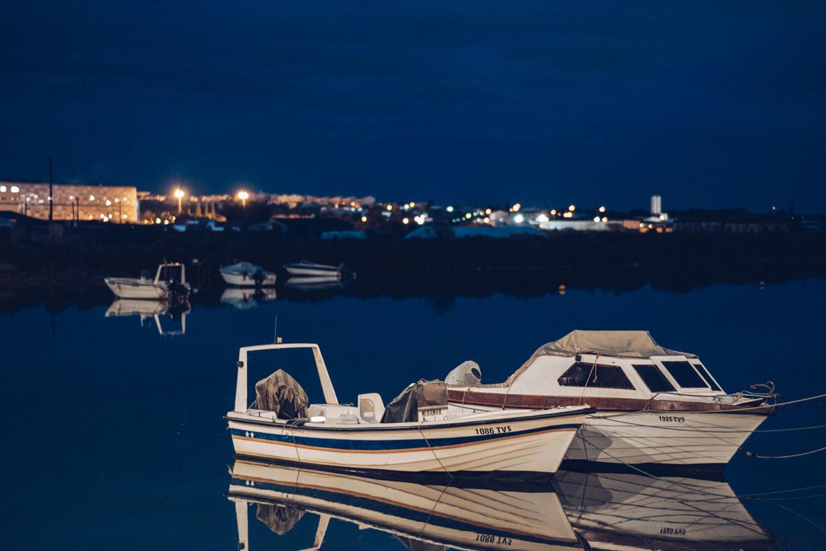 Refuse to hibernate Portugal Tavira bateaux