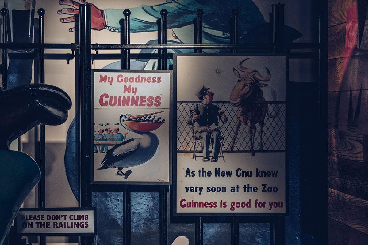 Refuse to hibernate Dublin Guinness Storehouse pub
