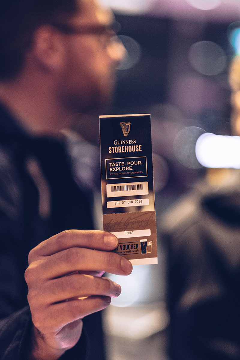 Refuse to hibernate Dublin Guinness Storehouse ticket