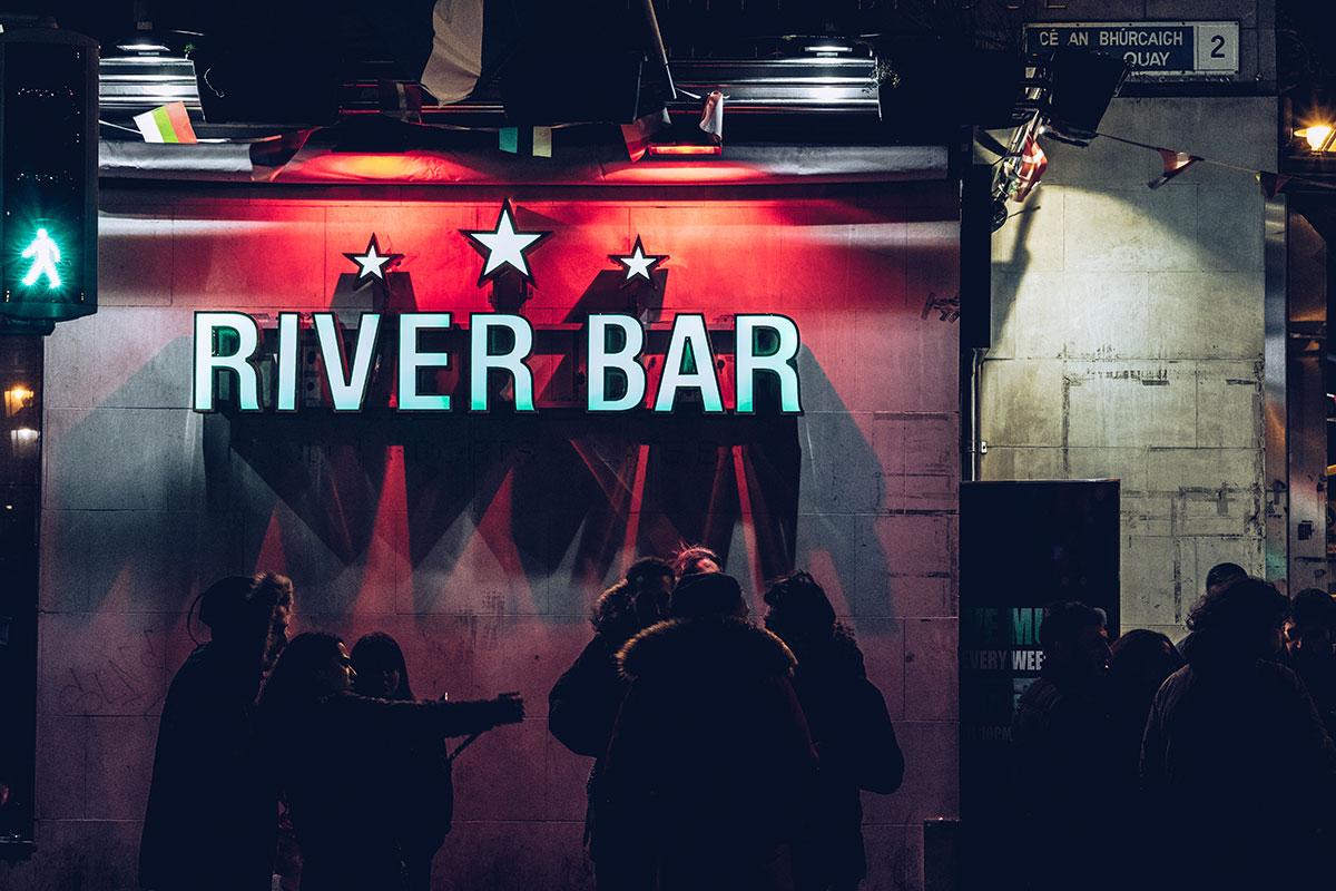 Refuse to hibernate Dublin River Bar