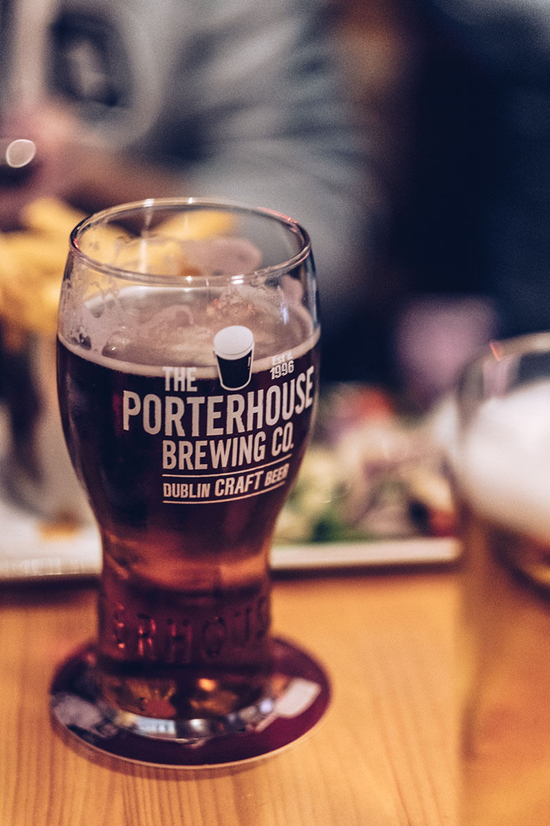 Refuse to hibernate Dublin The Porterhouse bière