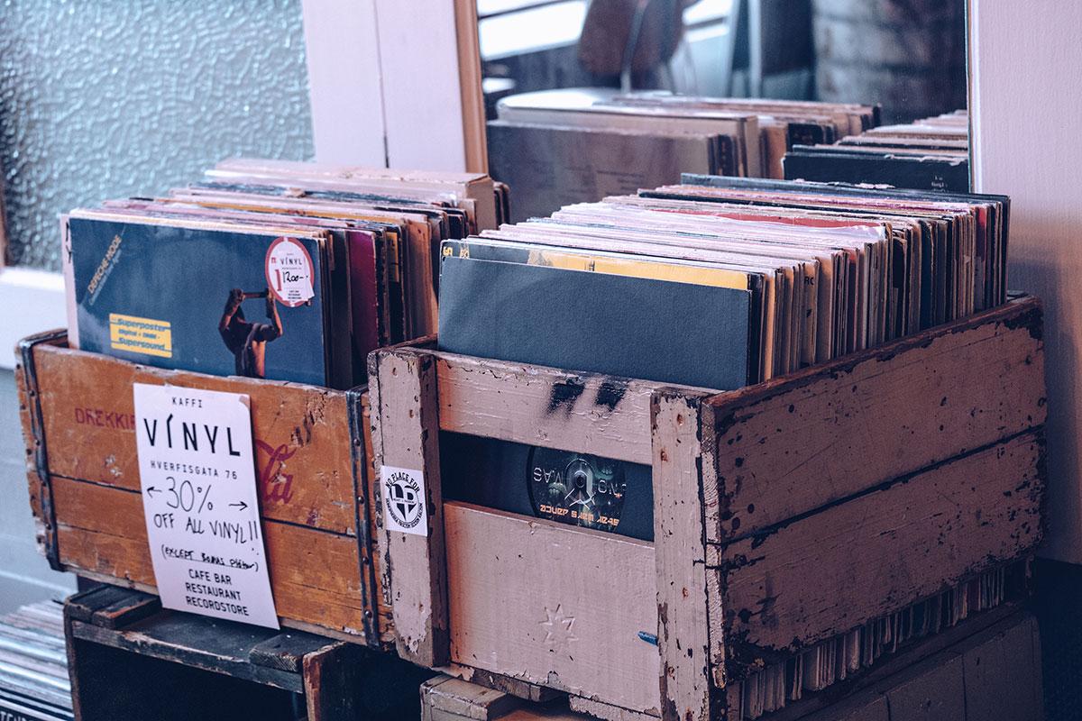 Refuse to hibernate Islande en hiver Kaffi vinyl