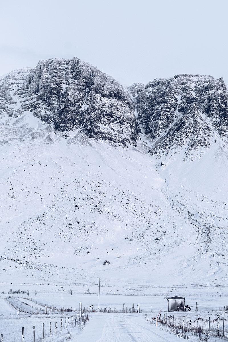 Refuse to hibernate Islande en hiver route 47 enneigée