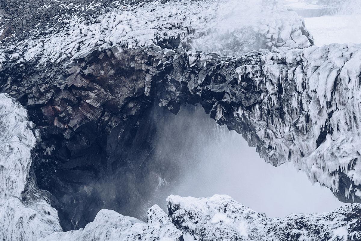 Refuse to hibernate Islande en hiver Vik i Myrdal arche