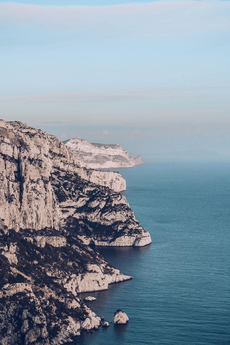Refuse to hibernate Marseille calanques de Sugiton vue belvédère