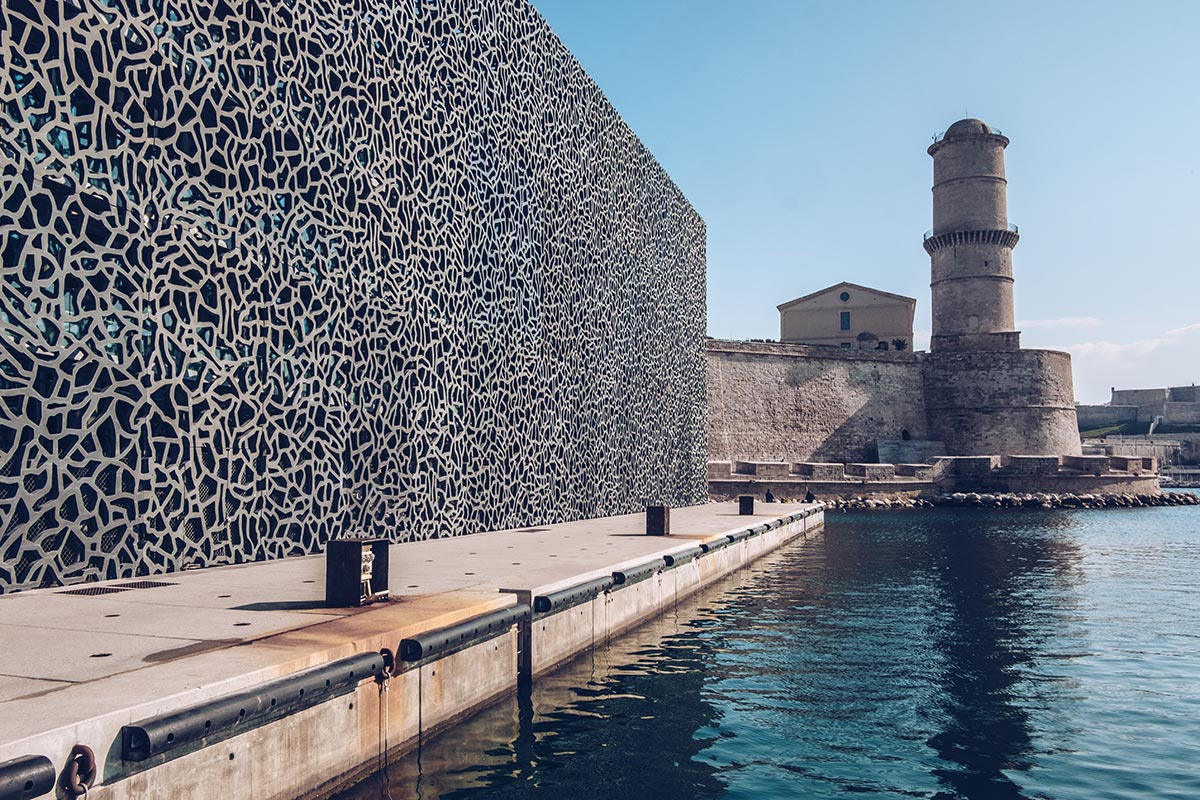 Refuse to hibernate Marseille MUCEM Fort Saint-Jean