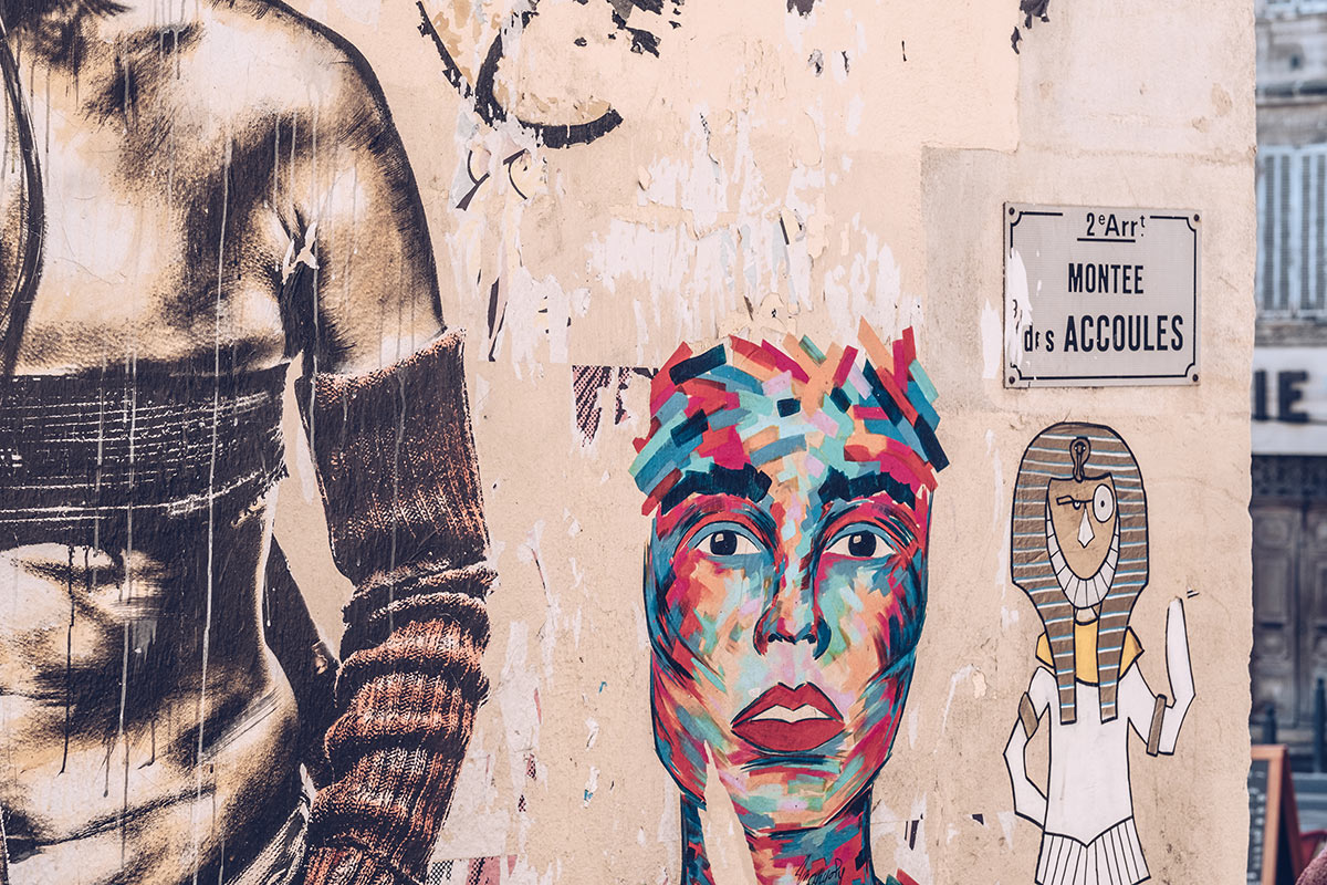 Refuse to hibernate Marseille quartier le panier street art