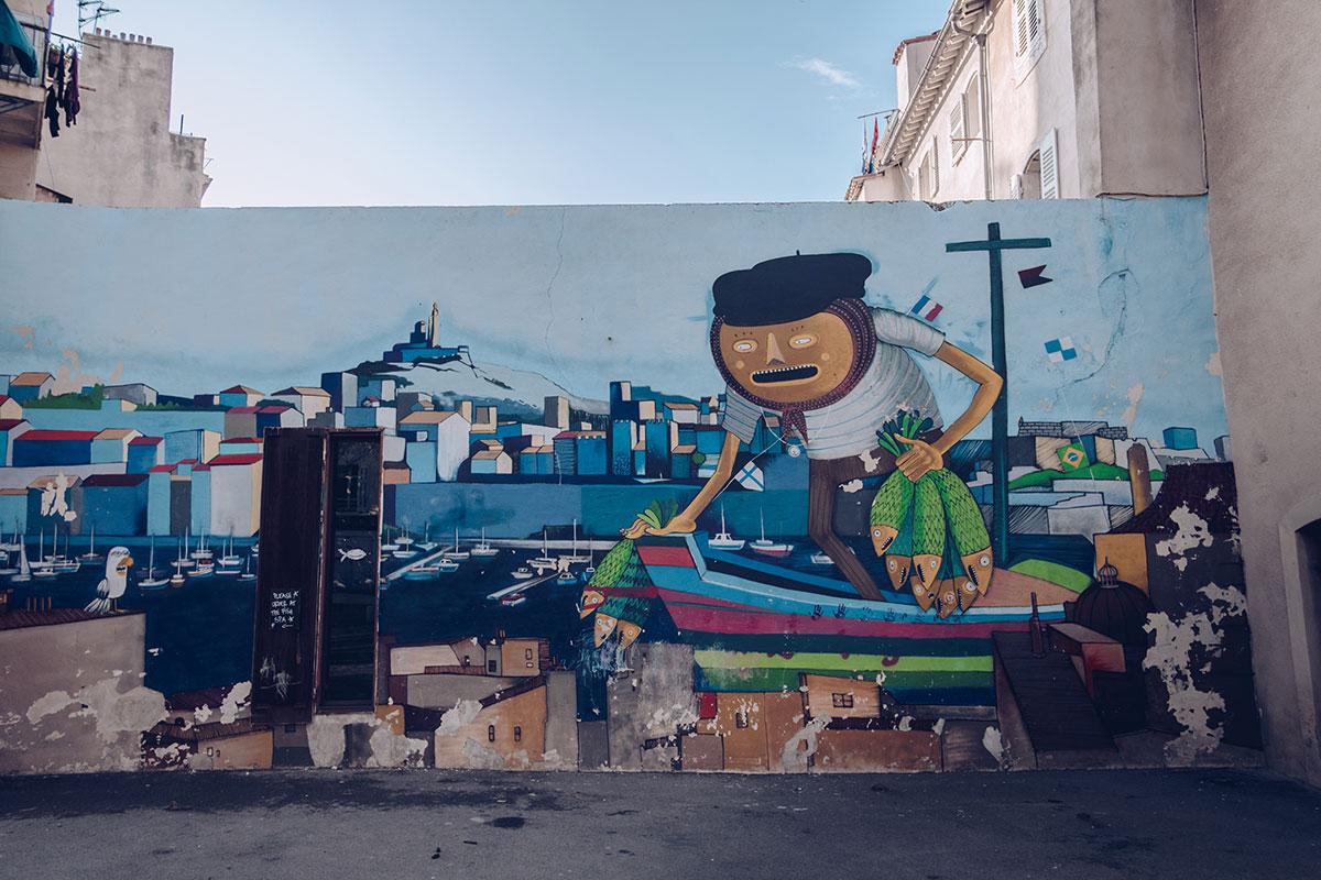 Refuse to hibernate Marseille quartier le panier street art Nhobi et Seek 313