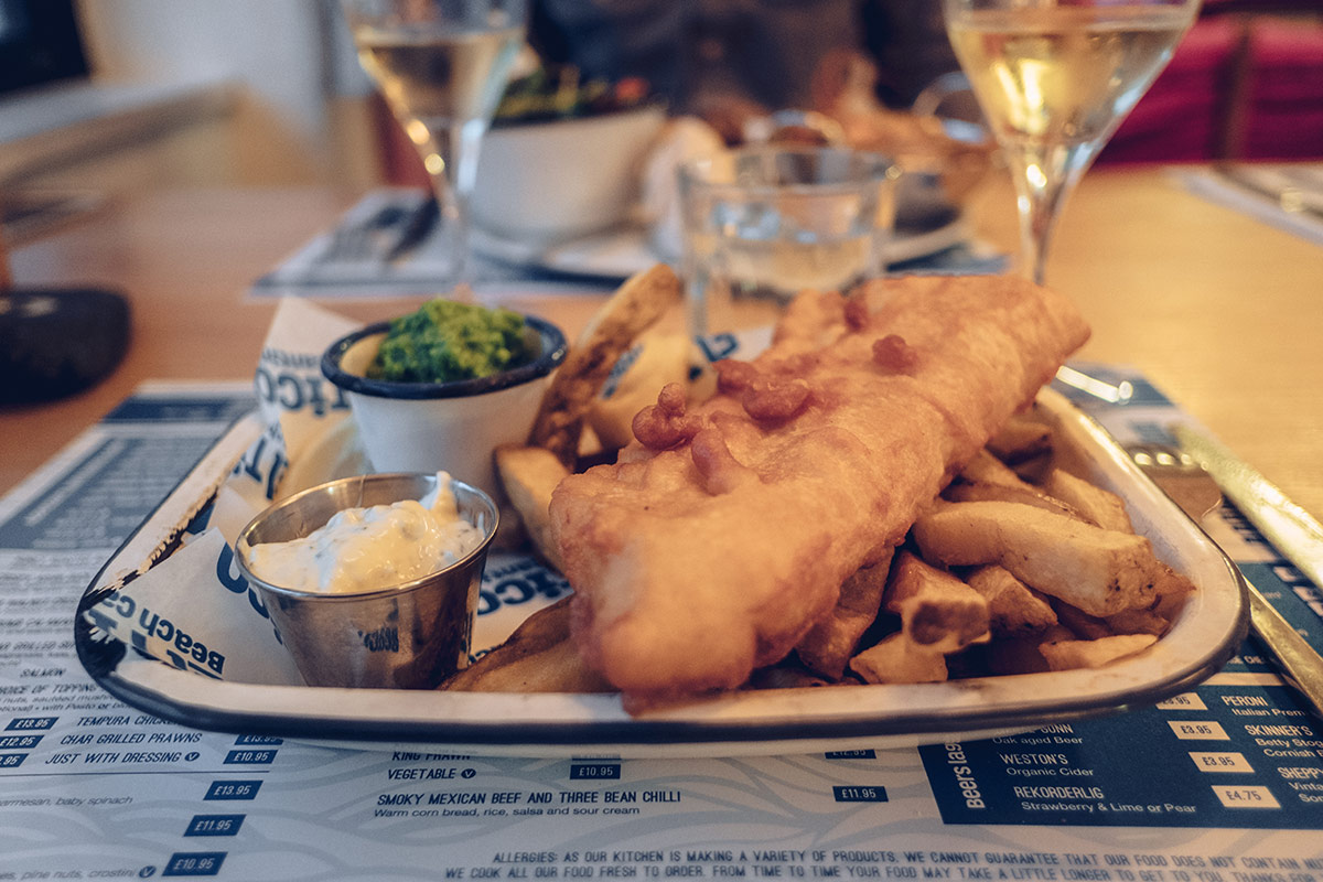 Refuse to hibernate Jersey el tico plat fish chips