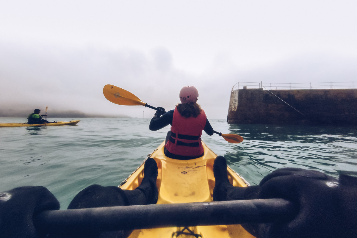 Refuse to hibernate Jersey kayak tour Absolute Adventures Audrey