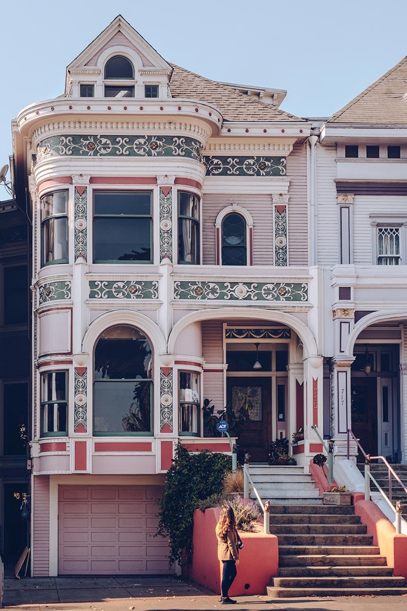 Refuse to hibernate San Francisco Alamo Square Park maison Audrey